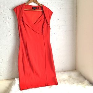 NWOT Ted Baker sexy red dress with cap sleeves